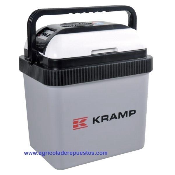 Nevera portátil 12V/230V 24 litros. Kramp