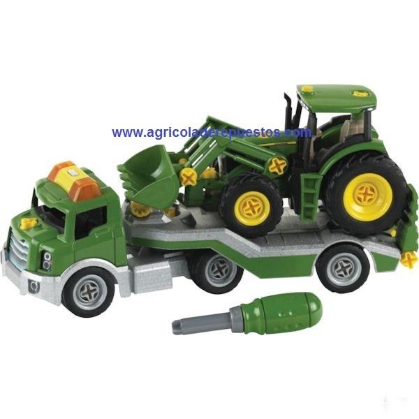 Tractor + camión. John Deere