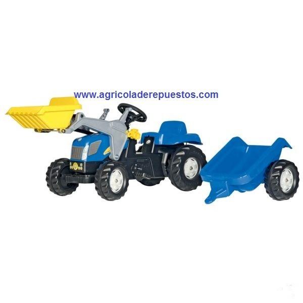 Tractor RollyKid New Holland TVT190 con cargador frontal
