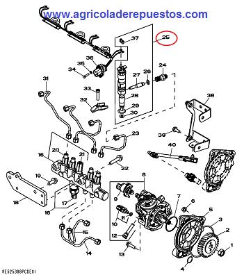 Inyector para S/6030 PREMIUM