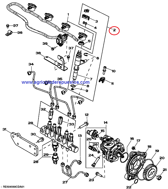 Kit de boquillas para S/6230 PREMIUM + POWERTECH