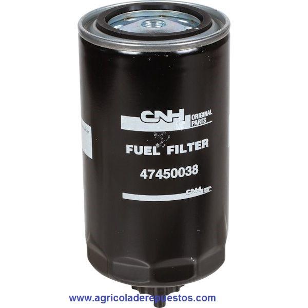 Filtro de combustible T4.95. CNH