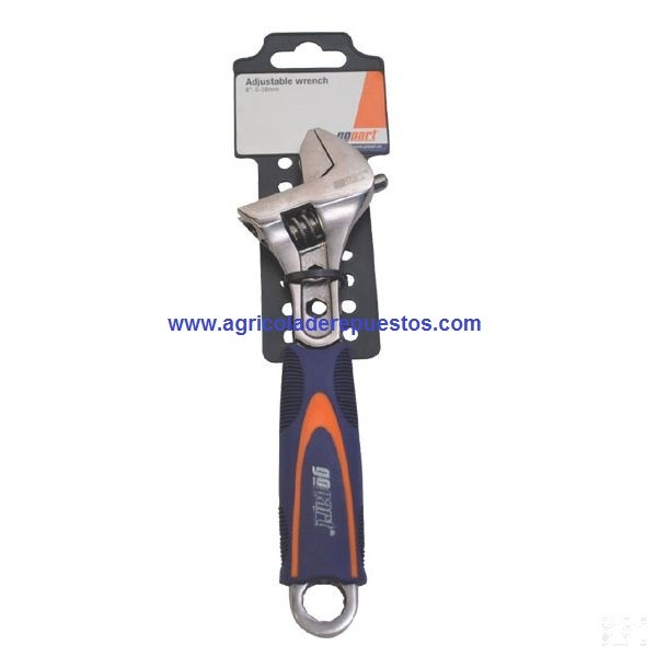 "Llave ajustable 8"" - 200 mm. Gopart"