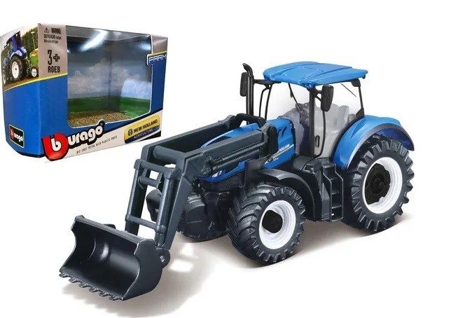 New Holland T7.315 con cargador frontal 1:32