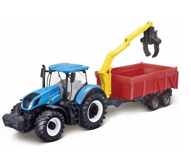 New Holland T7.315 con remolque combinado