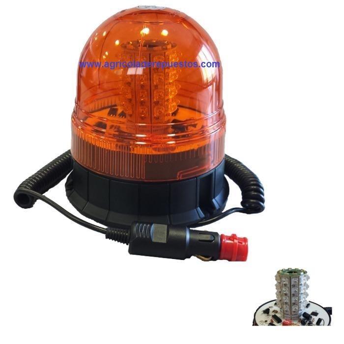 Girofaro destellante de LED 12-24V. Marca JBM