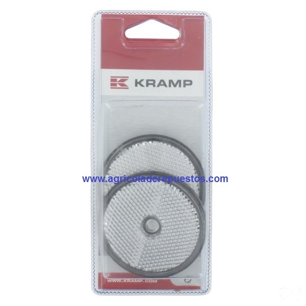 Reflectores blancos 60 mm (2x). Kramp