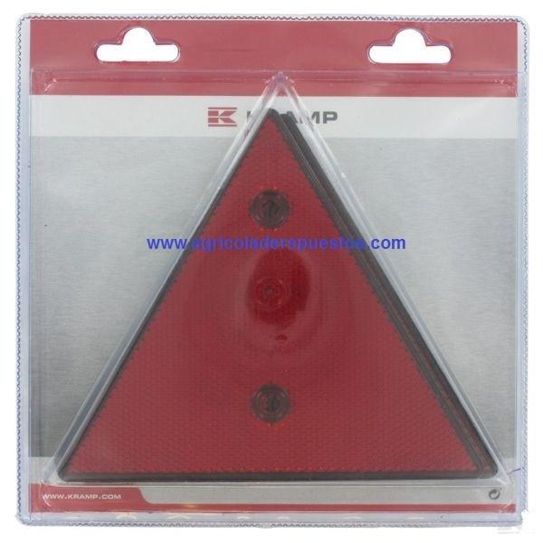 Triángulo reflectante PVC (2x). Kramp