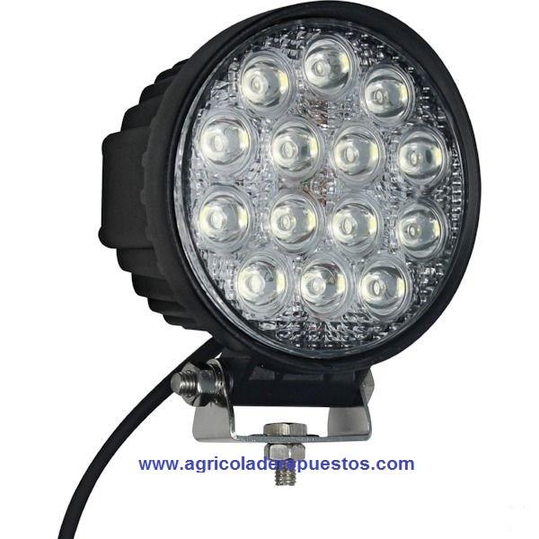 Foco de trabajo redondo LED. Marca Gopart