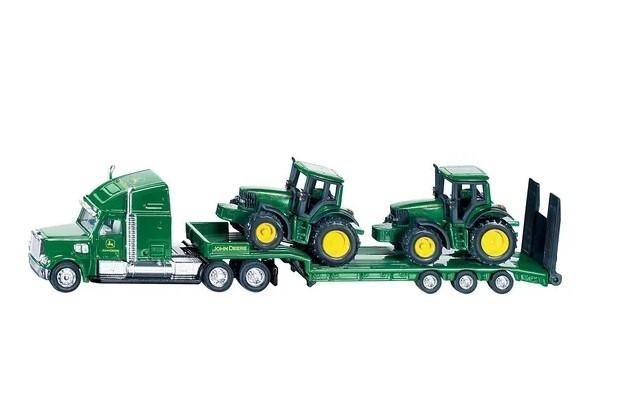 Camion + 2 tractores John Deere